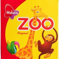 Malaco マラコ 動物園フルーツ味グミ 4箱 x 20g スウェーデンのお菓子です