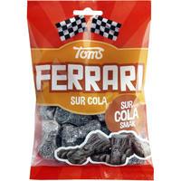 Toms FERRARI トムズ フェラーリ 車型 サワーコーラ味 グミ デンマークのお菓子です 4袋×120g デンマークのお菓子です