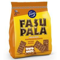 Fazer ファッツェル ファスパラ ソルティ キャラメル ウエハース 4 袋 x 215gセット フィンランドのウエハースです
