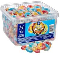 Fazer Tutti Fruttiトゥッティフルッティ リング フルーツ味 グミ 1.7kg* 1箱 グルテンフリー フィンランドのお菓子です