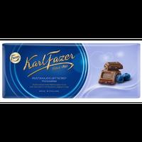 Karl Fazer ブルーベリーヨーグルト味 ミルクチョコレート 190g * 2枚セット フィンランドのチョコレートです