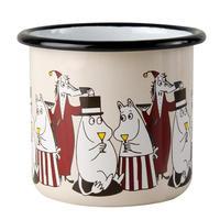 Muurla (ムールラ) ムーミン フレンズ ホーローマグカップ レッド 3,7DL