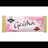 Fazer Geisha ファッツェル ゲイシャ ミルク チョコレート(ナッツ入り)100g入り×20枚セット  フィンランドチョコレートです