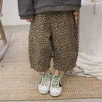 leopard  はんぱ丈パンツ