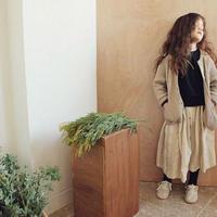 【SC】  MORINAストライプスカート 90cmのみ