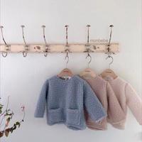 【monbebe】 boa pullover