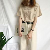 シンプル デザイン Tシャツ 7539