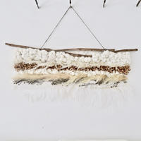 Botanical wall hanging  : LL [white]