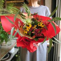 季節の花束 / red&Seasonal flowers