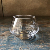 FLOW Tealight Holder Small Clear H7.5cm