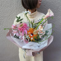 seasonal bouquet(花束) : spring 【¥5,000】