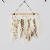 Botanical wall hanging  : M [white]