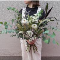ドライフラワーになる花束 [¥10,000]