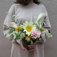seasonal arrangement : spring 【¥3,500】