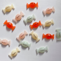 キャンディミニパーツ4色/デコ,ネイルアート,ハンドメイド,レジン,デコパーツ,