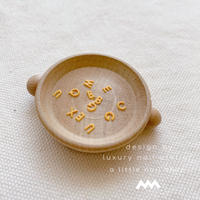 マニキュアネイルアートにも☆オリジナル アルファベットミニパーツ /カラー・マットイエロー/ [ AG-31]