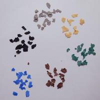 ネイル, ハンドメイド, レジン, パーツ/カラーフレークくすみ系カラー/6色 [AG-1117]