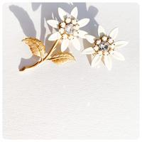 antique   daisy pirece&earring