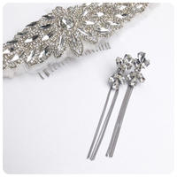 silver ribbon pierce&earring