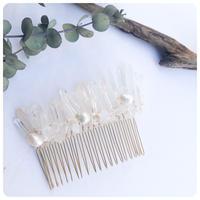 mini crystal comb
