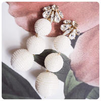 bijou bonbon pierce&earring