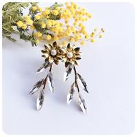 putit flower pierce&earring