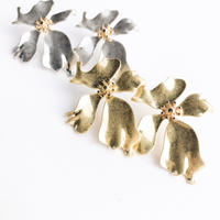 frill flower pirece&earring