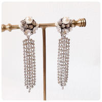 silver lane pierce&earring