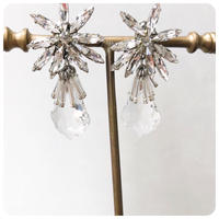 noble crystal pierce&earring