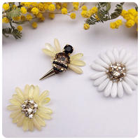 bee×flower pierce&earring
