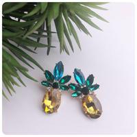 pineapple pierce&earring