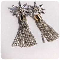 noble beads tassel pierce&earring
