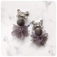 frill  tassel pierce&earring