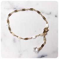 14kgf crystal star bracelet