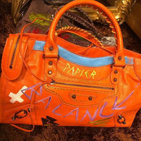 オリジナルペイントバッグ オレンジカラー
