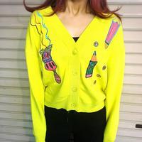 SALE ☆ 刺繍ニットカーディガン