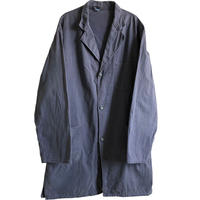 """【60's euro vintage / germany made】""""WITT WEIDEN"""" work shop coat -Charcoal gray / 56- (jt-214-10)"""