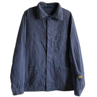 "【80's euro vintage / germany made】""wurster, metzingen"" postman work jacket  -gray / L-  (jt-214-21)"
