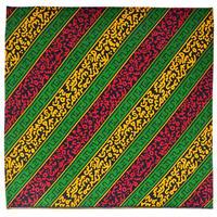 """kitinge / tanzania made"" 100% cotton big bandana (ba-06)"