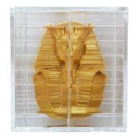 """【used】""""tutankhamen"""" 3D puzzle  -gold / 32 piece- (tr-007)"""
