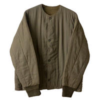 """【60's/dead stock】 czechslovakia military """"M60"""" quiltitng jacket -olive green- (om-4-4)"""