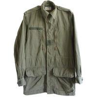 "【 1977 vintage / France army】Covetra Merville ""M-64"" field jacket -olive green / 92C- (om-10-3D)"