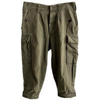 "【1989's  vintage / German army】""BW""moleskin knickers cargo pants  -olive green / W82cm-"