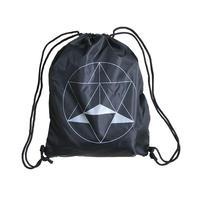 """E-yang"" ●merkabah●  Bag pack ""Black"" (eb-mb)"