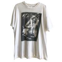 """【60-70's vintage / Frank Zappa】 """"Zappa Krappa"""" Toilet Poster © 1967  T-shirts - L/whie- (jt-218-71)"""