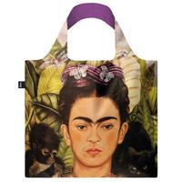 """LOQI"" ●Frida Kahlo● Self Portrait with Hummingbird Recycled Bag (FK.SP.R)"