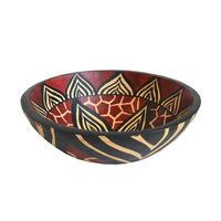 """zimbabwe"" hand made gourd bowl -medium- (zbm002)"