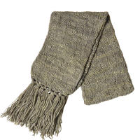 【africa/kenya hand made】naro moru / plant dyeing Scarf  -olive green-  (AS-11A)