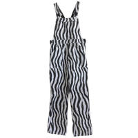 "【80's euro vintage】""zebra"" pattern overall - 34inch- (jt-214-7)"