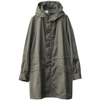 """【1981 vintage/dead Stock】""""SOCOVET"""" France military M-64 mods coat parka -olive / 92C- (q-2110D)"""
